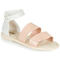 Παπούτσια Γυναίκα Σανδάλια / Πέδιλα Melissa MELISSA MODEL SANDAL Άσπρο / Ροζ