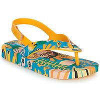 Παπούτσια Παιδί Σαγιονάρες Melissa MINI MELISSA & IPANEMA Yellow / Μπλέ