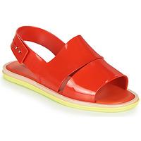 Παπούτσια Γυναίκα Σανδάλια / Πέδιλα Melissa CARBON Red