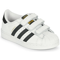 Παπούτσια Παιδί Χαμηλά Sneakers adidas Originals SUPERSTAR CF C Άσπρο / Black