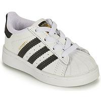 Παπούτσια Παιδί Χαμηλά Sneakers adidas Originals SUPERSTAR EL I Άσπρο / Black