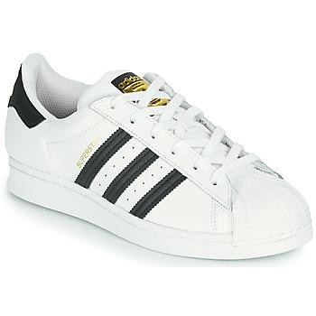 Παπούτσια Παιδί Χαμηλά Sneakers adidas Originals SUPERSTAR J Άσπρο / Black