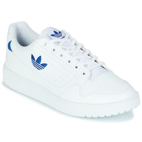 Παπούτσια Χαμηλά Sneakers adidas Originals NY 92 Άσπρο / Μπλέ
