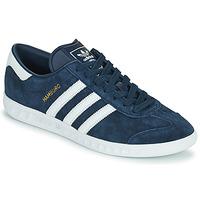 Παπούτσια Άνδρας Χαμηλά Sneakers adidas Originals HAMBURG Marine