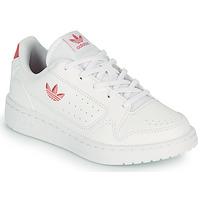 Παπούτσια Παιδί Χαμηλά Sneakers adidas Originals NY 92 C Άσπρο / Ροζ