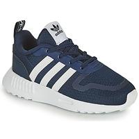 Παπούτσια Παιδί Χαμηλά Sneakers adidas Originals SMOOTH RUNNER EL I Marine / Άσπρο
