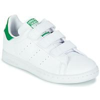 Παπούτσια Παιδί Χαμηλά Sneakers adidas Originals STAN SMITH CF C SUSTAINABLE Άσπρο / Green / Vegan
