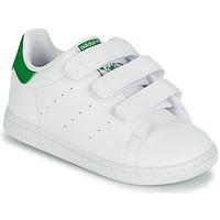 Παπούτσια Παιδί Χαμηλά Sneakers adidas Originals STAN SMITH CF I SUSTAINABLE Άσπρο / Green