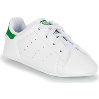 Παπούτσια Παιδί Χαμηλά Sneakers adidas Originals STAN SMITH CRIB SUSTAINABLE Άσπρο / Green