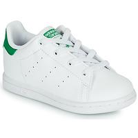 Παπούτσια Παιδί Χαμηλά Sneakers adidas Originals STAN SMITH EL I SUSTAINABLE Άσπρο / Green
