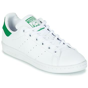Παπούτσια Παιδί Χαμηλά Sneakers adidas Originals STAN SMITH J SUSTAINABLE Άσπρο / Green