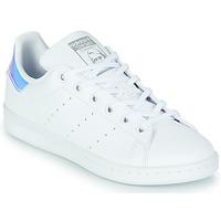 Παπούτσια Κορίτσι Χαμηλά Sneakers adidas Originals STAN SMITH J SUSTAINABLE Άσπρο / Iridescent
