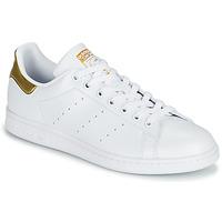 Παπούτσια Γυναίκα Χαμηλά Sneakers adidas Originals STAN SMITH W SUSTAINABLE Άσπρο / Gold