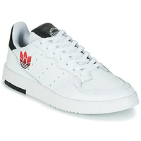 Παπούτσια Γυναίκα Χαμηλά Sneakers adidas Originals SUPERCOURT Άσπρο / Black