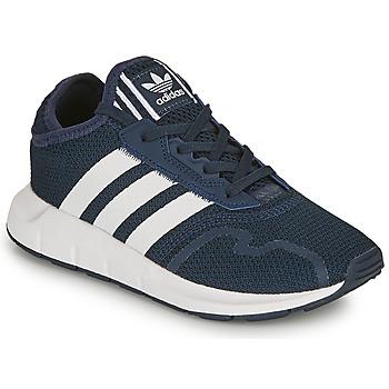 Παπούτσια Παιδί Χαμηλά Sneakers adidas Originals SWIFT RUN X C Marine