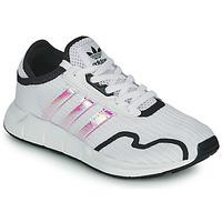 Παπούτσια Κορίτσι Χαμηλά Sneakers adidas Originals SWIFT RUN X J Άσπρο / Iridescent