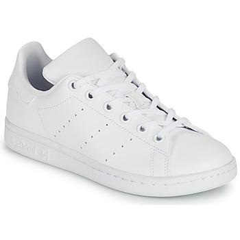 Παπούτσια Παιδί Χαμηλά Sneakers adidas Originals STAN SMITH J SUSTAINABLE Άσπρο