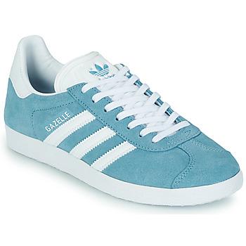 Παπούτσια Γυναίκα Χαμηλά Sneakers adidas Originals GAZELLE W Μπλέ