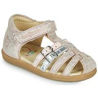 Παπούτσια Κορίτσι Σανδάλια / Πέδιλα Shoo Pom PIKA SPART Beige / Silver