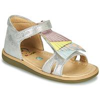 Παπούτσια Κορίτσι Σανδάλια / Πέδιλα Shoo Pom TITY FALLS Silver