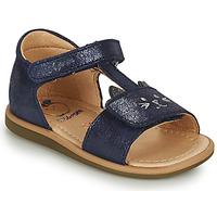 Παπούτσια Κορίτσι Σανδάλια / Πέδιλα Shoo Pom TITY MIAOU Μπλέ