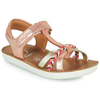 Παπούτσια Κορίτσι Σανδάλια / Πέδιλα Shoo Pom GOA SALOME Ροζ
