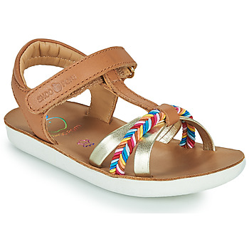 Παπούτσια Κορίτσι Σανδάλια / Πέδιλα Shoo Pom GOA SALOME Brown