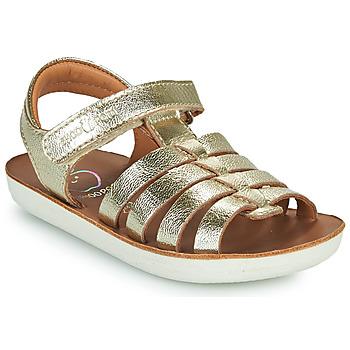 Παπούτσια Κορίτσι Σανδάλια / Πέδιλα Shoo Pom GOA SPART Silver
