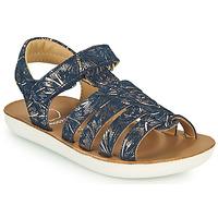 Παπούτσια Κορίτσι Σανδάλια / Πέδιλα Shoo Pom GOA SPART Μπλέ