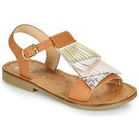 Παπούτσια Κορίτσι Σανδάλια / Πέδιλα Shoo Pom HAPPY FALLS Brown