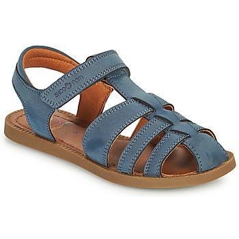 Παπούτσια Αγόρι Σανδάλια / Πέδιλα Shoo Pom SOLAR TONTON Μπλέ