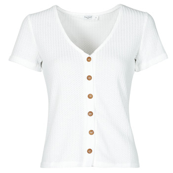 Υφασμάτινα Γυναίκα Μπλούζες Betty London ODILOU Άσπρο