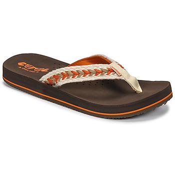 Παπούτσια Γυναίκα Σαγιονάρες Cool shoe NUBE Brown