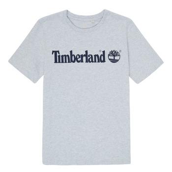 Υφασμάτινα Αγόρι T-shirt με κοντά μανίκια Timberland NINNO Grey