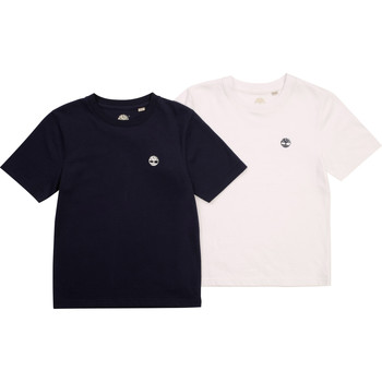 Υφασμάτινα Αγόρι T-shirt με κοντά μανίκια Timberland FONNO Multicolour