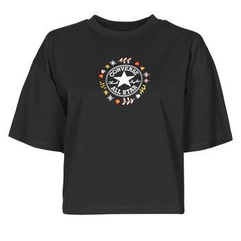 Υφασμάτινα Γυναίκα T-shirt με κοντά μανίκια Converse CHUCK WOMENS WANDER TANK Black