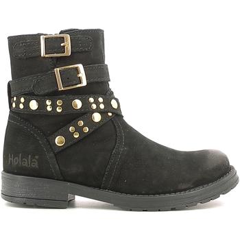 Παπούτσια Παιδί Μπότες Holalà HL120008L Μαύρος