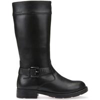 Παπούτσια Παιδί Μπότες για την πόλη Geox J64A2A 00043 Μαύρος
