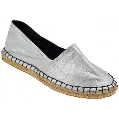 Παπούτσια Γυναίκα Εσπαντρίγια Only  Silver