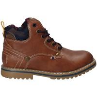Παπούτσια Παιδί Μπότες Wrangler WJ17210 καφέ