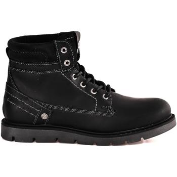 Παπούτσια Άνδρας Μπότες Wrangler WM182011 Μαύρος
