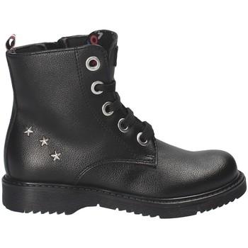 Παπούτσια Παιδί Μπότες Tommy Hilfiger T4A5-30068-0289 Μαύρος