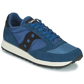 Παπούτσια Άνδρας Χαμηλά Sneakers Saucony JAZZ VINTAGE Μπλέ / Black
