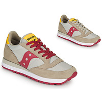 Παπούτσια Γυναίκα Χαμηλά Sneakers Saucony JAZZ ORIGINAL Beige / Red