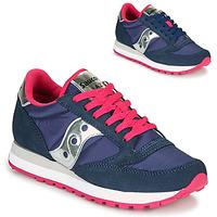 Παπούτσια Γυναίκα Χαμηλά Sneakers Saucony JAZZ ORIGINAL Μπλέ / Ροζ