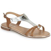 Παπούτσια Γυναίκα Σανδάλια / Πέδιλα Adige ANNABELLE V4 SPECCHIO SILVER Silver