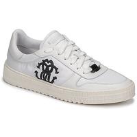 Παπούτσια Άνδρας Χαμηλά Sneakers Roberto Cavalli GEL Άσπρο