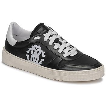 Παπούτσια Άνδρας Χαμηλά Sneakers Roberto Cavalli GEL Black