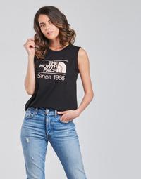 Υφασμάτινα Γυναίκα Αμάνικα / T-shirts χωρίς μανίκια The North Face W SEASONAL GRAPHIC TANK Black