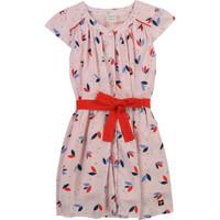 Υφασμάτινα Κορίτσι Κοντά Φορέματα Carrément Beau Y12246-44L Ροζ